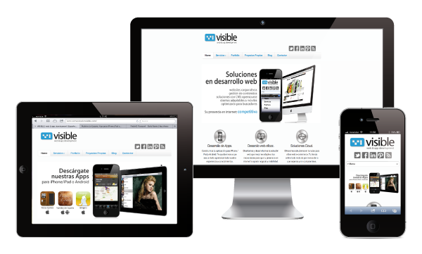 responsive visible site